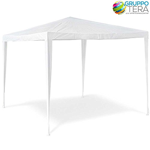 Lifetime Garden Garden Festival Gazebo Party Tent 3M x 2.5M, White