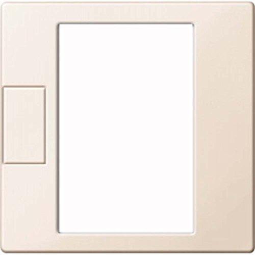 Merten MEG5775-0344 Zentralpl. f. Univers. Temperaturregl.-Eins. m. Touch-Display, weiß glänz,Sys.M