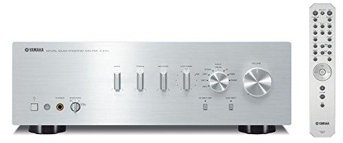 Yamaha AS-701 - Amplificador integrado estéreo de 160 W por canal, plata