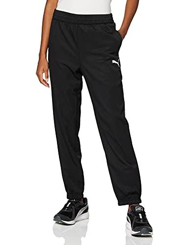 PUMA Damen Hose Active Woven Pants, Puma Black, XL, 851777