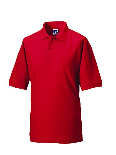Jerzees - Polo - - Col polo - Manches courtes Homme - Rouge - Classic Red - X-small