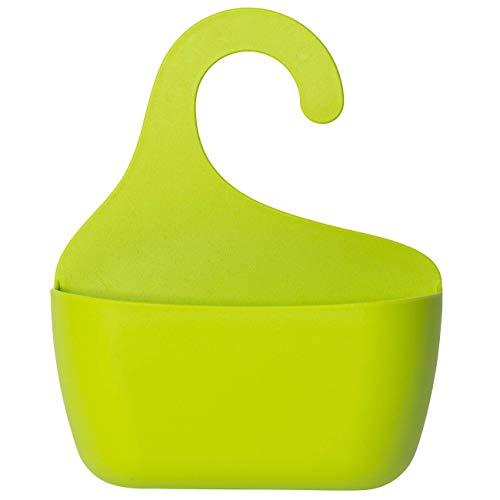 Cesta de ducha con gancho para colgar en la ducha, estantería de baño, utensilio, estante colgante tamaño S