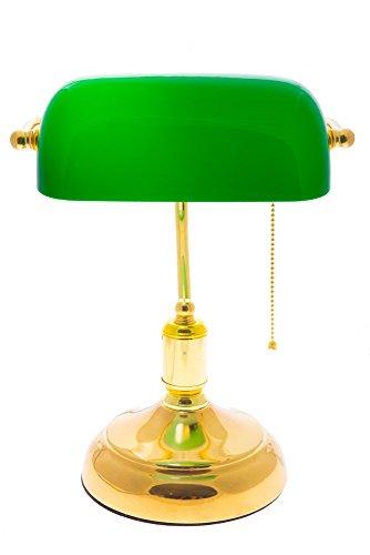 lampara de escritorio verde marca IIDSA