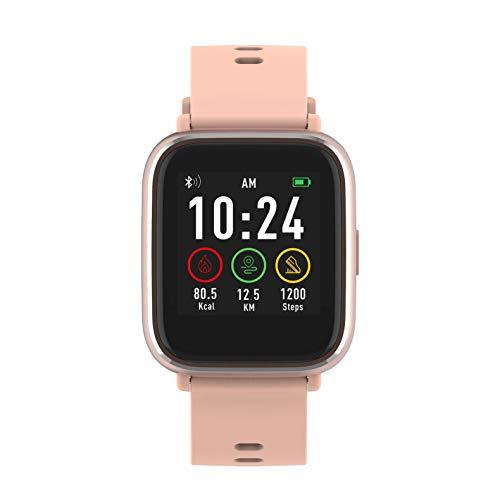Denver Bluetooth-Smartwatch mit Herzfrequenzsensor Rose SW-161