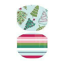 Christmas, Hanukkah & New Year Exclusives   Jamberry Nail Wraps   Nail Decal   Winter Seasonal Nail Art Stickers (Junior Size (Full Sheet), Tinsel Time Jr)