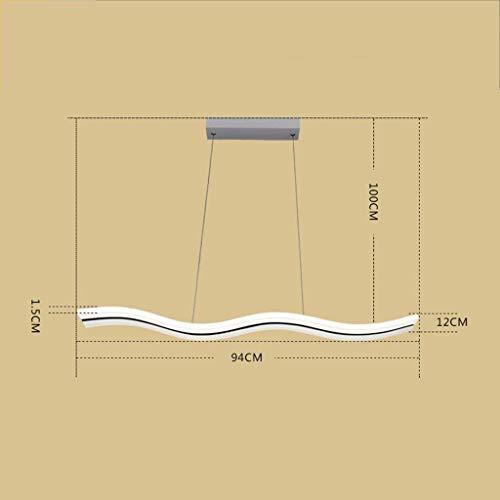 Lamp voor moderne woonkamer, minimalisme, slaapkamer, eetkamer, zittende woonkamermode, niet polar, D-J Warm licht