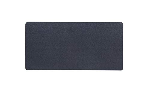 """MotionTex Exercise Equipment Mat for Under Treadmill, Rowing Machine, Elliptical, Fitness Equipment, Home Gym Floor Protection, 30"""" x 66"""", Black"""