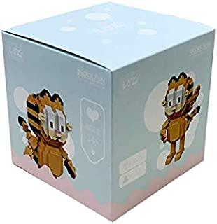 LOZ Diamond Blocks Garfield Plastic Building Blocks Action Figures Educational Toys (9758)