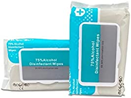 Alcohol(75%) Anti Bacterial Hand Wipes-1x80pcs pack(Buy 2 or more for £5 Each Inc VAT) All purpose Wet wipes Instant dry