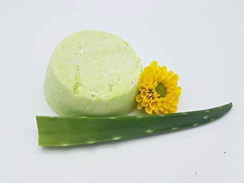 Shampoo Bar Aloe Vera – für trockenes Haar und Kopfhaut, allergenfrei, vegan. plastikfrei, festes Shampoo von kleine Auszeit Manufaktur