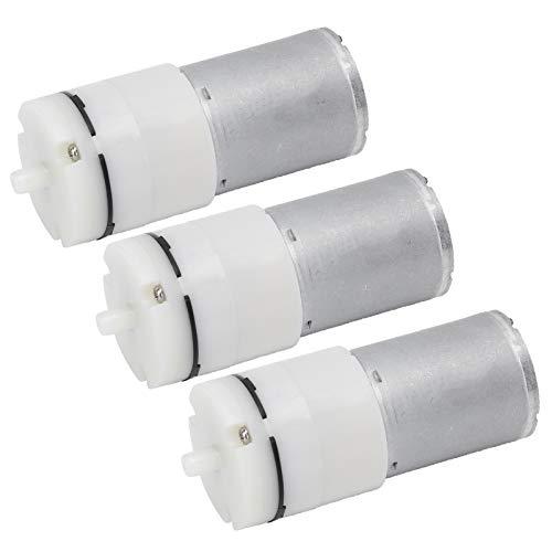 SALUTUYA Motor de vacío de Aire 3 Piezas Mini Bomba de vacío para Fuentes de Mesa para Estanque