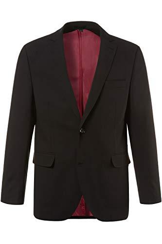 JP 1880 Herren große Größen bis 72, Anzug-Jacke, Baukasten-Sakko Zeus, FLEXNAMIC®, Schnurwoll-Qualität schwarz 64 705512 10-64