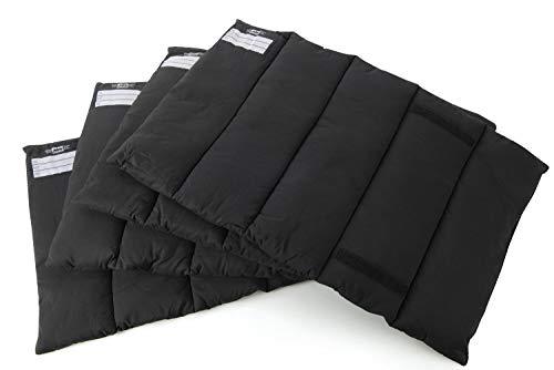 Eskadron Bandagenunterlagen mit Klett Größe: OneSize Farbe: 4207 black