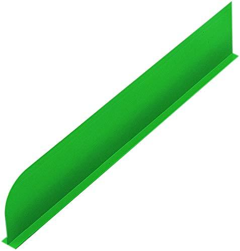Scheidingswanden, plexiglas, groen, 750 x 250 mm