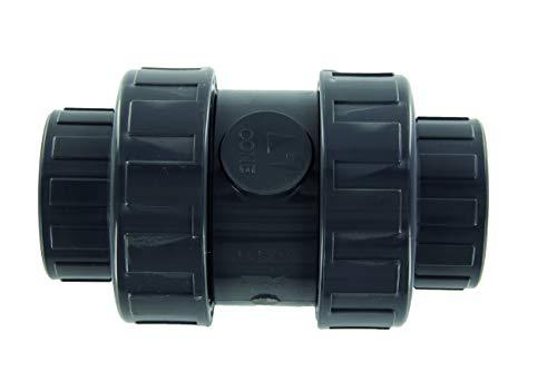 Steinbach Fitting, PVC Rückschlagventil, grau, 1 x 1 x 1 cm, 062120