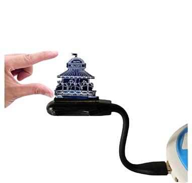 Lámpara de mesa táctil 3D con control remoto y luz LED para Navidad, Halloween, funciona con USB, ahorro de energía, adecuado para sala de estar, bar, fiesta