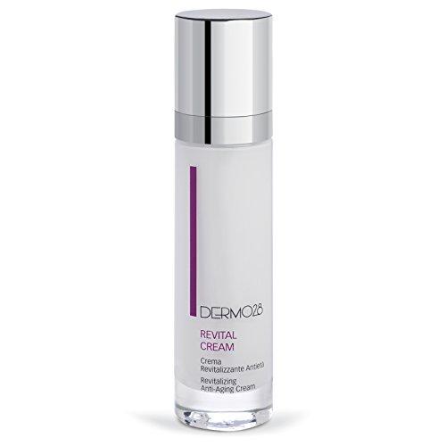 Dermo28 Skincare Made in Italy – Revital Cream 50 ml – Crème revitalisante et régénérante anti-âge