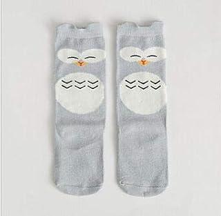 KAIBINY, KAIBINY Calcetines de arranque de Calentadores de la pierna del niño recién nacido del bebé rodilla alta cálida Niño Niña Bebé de algodón de impresión de zorro de dibujos animados del gato Animal pier