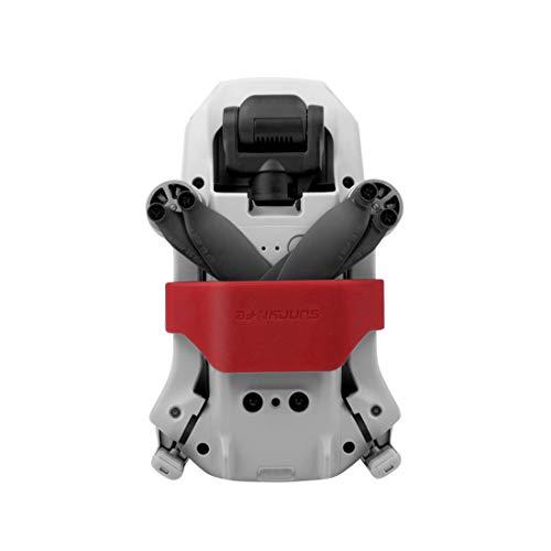 Compatible con dji Mavic Mini Drone Blade Soporte de hélices Fijación Soporte de protección Estabilizadores de hélice (Rojo)