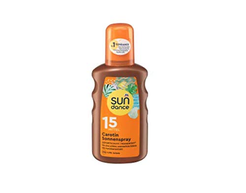 sundance Sonnenspray Carotin LSF 15, 200 ml Sun Pflege vegan