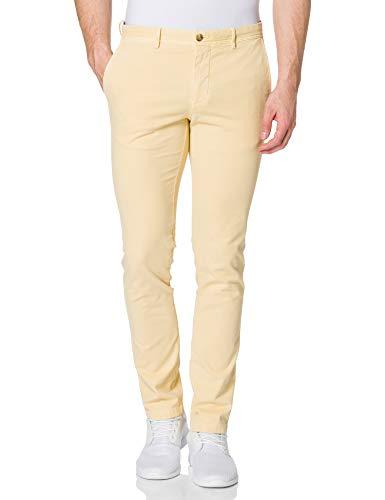 Tommy Hilfiger Bleecker Structure GMD Pantalones, Caravana, 36W/40L para Hombre