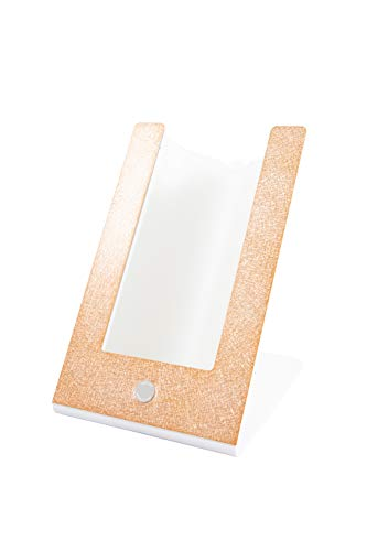 argentoè Contatto-gelette Termica con Profilo Metallo Oro Rosa raffredda Bottiglia