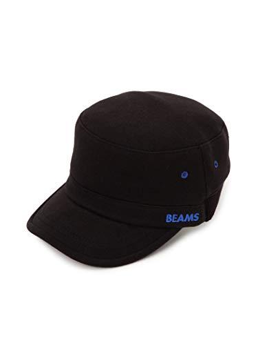 BEAMS キャップ リブ切替 ワーキャップ メンズ Black One Size