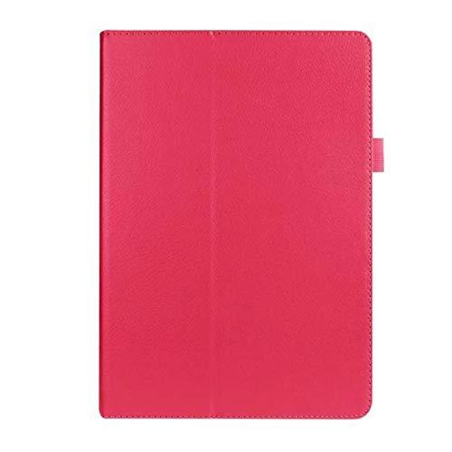 INSOLKIDON Compatibile con ASUS Zenpad 10 Z300 Z300CL Z300CG 10 inch Tablet Custodia protettiva in pelle Supporto sottile Custodia protettiva in pelle Custodia protettiva (Rosa rossa)