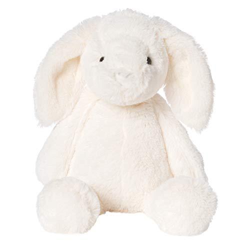 Manhattan Toy Lovelies Riley Rabbit Plush, White, 12'