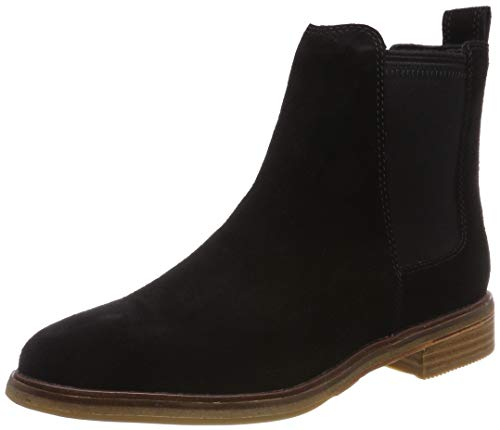 Clarks Damen Clarkdale Arlo Chelsea Boots, Schwarz (Black SDE), 41 EU