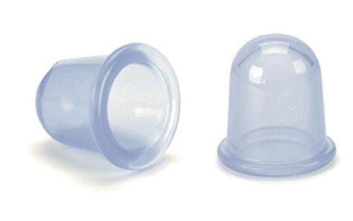 Hosaire 2PCS Pequeño Copas Cuerpo Anti Celulitis de vacío de Silicona Masaje con ventosas Copas Cuidado de la Salud