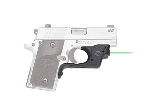 Crimson Trace LG-492G Laserguards with Green Laser, Heavy Duty Construction and Instinctive Activation for Sig Sauer P238/P938, Defensive Shooting and Competition