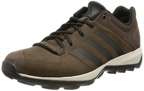 adidas Herren Daroga Plus Leather Walking Shoe, Brown/Core Black/Simple Brown, 42 EU