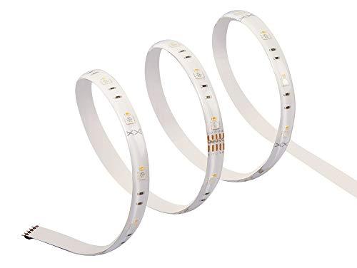 Osram Lightify Flex LED-Streifen Erweiterung 60 cm Länge, Dimmbar, Warmweiß bis tageslicht 2000K - 6500K und Farbsteuerung, Kompatibel mit Alexa
