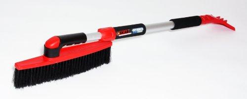 Oskar 20491 Hybrid I Ergo Extendable Snow Brush, 45-Inch