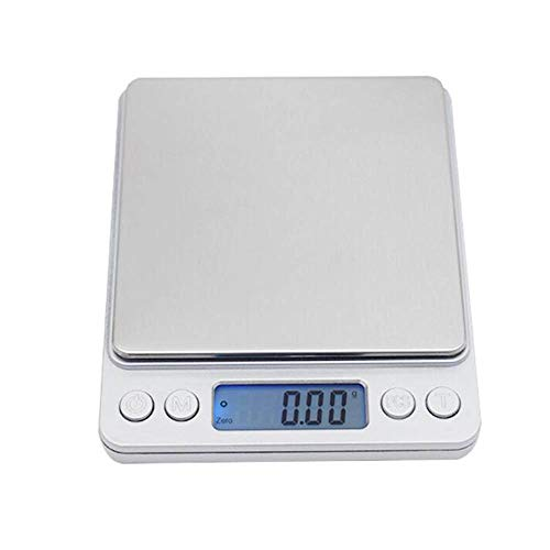 Elektronische digitale weegschaal, mini-tas, draagbaar, voor sieraden, keuken, post, weegschaal, digitale weegschaal, 1000 g/2000 g/3000 g/0,1 g 3kg*0.1g