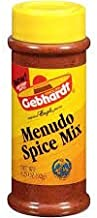 Gebhardt Menudo Spice Mix Pack of Three 3.25 Oz Bottles