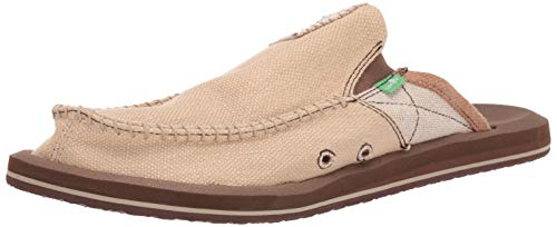 Sanuk Men's You Got My Back II Slip On,Tan,11 M US