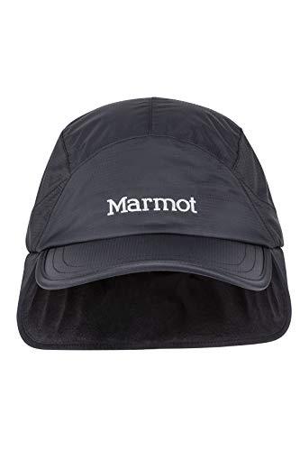 Marmot Precip Eco Insul Baseball Cap Casquette Isolée, Ajustable, pour l'extérieur, Le Sport, et Les Voyages Black FR: S (Taille Fabricant: S/M)
