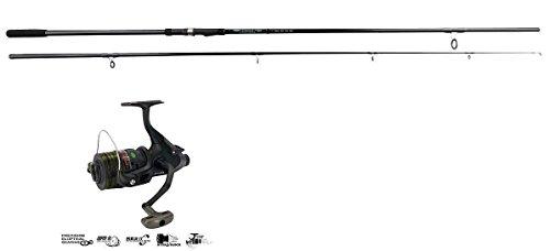 Okuma G-force All Black Carp Rod 12ft 2.75lb T/C + Okuma Free spin Reel...