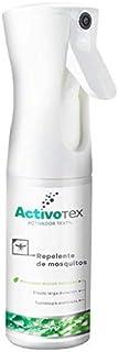 Spray repelente de mosquitos natural | Antimosquitos de larga duración contra picaduras para niños, adultos, perros. | Extracto Natural Citrodiol | Auyentador de mosquitos potente | ACTIVOTEX (185ml)