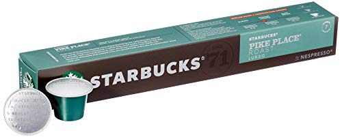 STARBUCKS PIKE PLACE Roast by NESPRESSO Medium Roast, 80 Kapseln, (8 x 10)