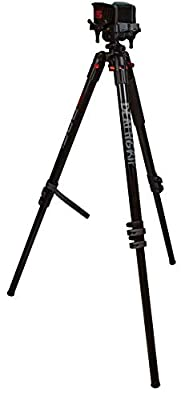 Bog DeathGrip Aluminum Tripod with Durable, Lightweight, Stable Design, Bubble Level and Hands-Free Operation for Hunting, Shooting and Outdoors