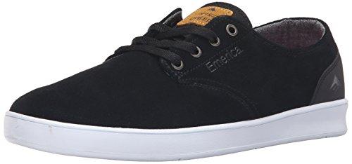 Emerica Herren The Romero Laced Blak WH Skateboardschuhe, Black Black White 552, 43 EU