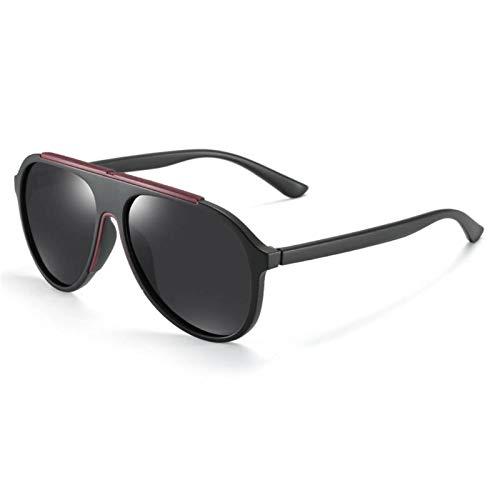PrittUHU 2020 Gafas para Hombres Conducción Gafas de Sol Polarizadas Hombres Mujeres Marco Moda Gafas Sombras TAC Lens (Lenses Color : 2)