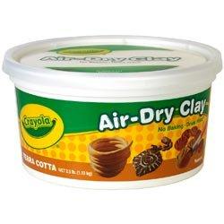Crayola (2-Pack) Air Dry Clay 2.5lb Terra Cotta 57-5064