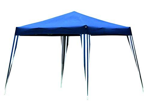 Lifetime Garden! Faltpavillon Wasserdicht, Gartenpavillion 3x3 m Stahlgestell, Partyzelt blau faltbar mit Transporttasche
