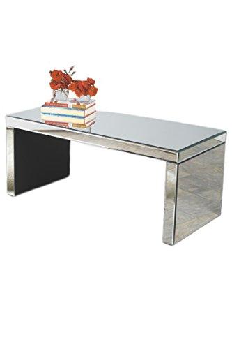 Statements by J FU0069 Bridget Mirrored Coffee Table, Chrome