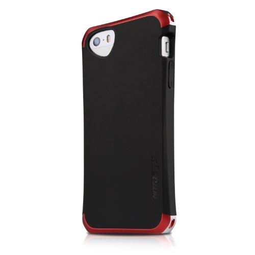 ITSKINS Nitro Forged-Custodia Protettiva per iPhone 5/5S, Rosso, iPhone 5/5S