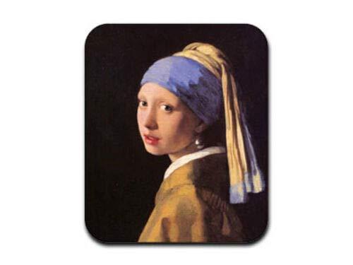 Mausmatte, Das Mädchen mit dem Perlenohrring - Johannes Vermeer